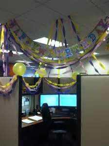Funny Cubicle Decor Cubicle Birthday Decorations On Pinterest