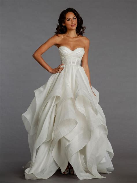 kleinfeld princess wedding dresses pnina tornai wedding dresses world dresses