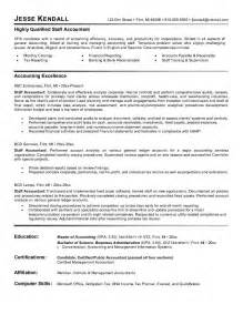 Sample Staff Accountant Resume Example Staff Accountant Resume Free Sample