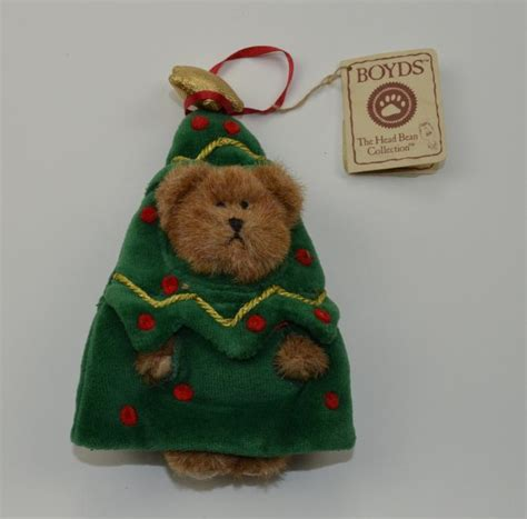 boyds bears lil spruce christmas ornament bear 6 quot tall