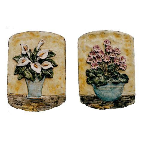 vaso con calle vaso calle vaso fiori rosa arte e ceramica toscana