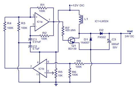 1 5v 12v inverter schematic get free image about wiring