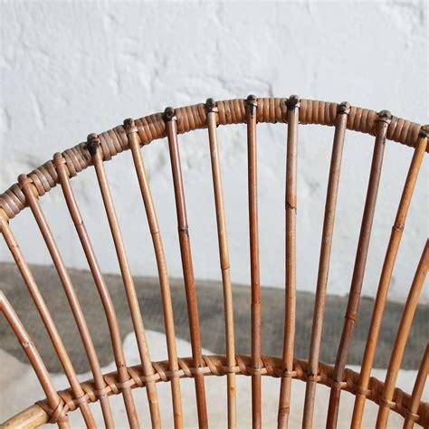 Plaid Pour Fauteuil 909 by Fauteuil Rotin Vintage Coquille Atelier Du Petit Parc