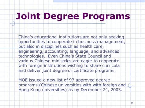 Mba Mpa Joint Degree Programs by China Educationmkt Cfc
