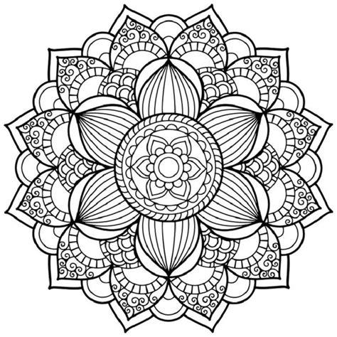 imagenes flor mandala mandalas para ni 241 os los beneficios de dibujar y colorear