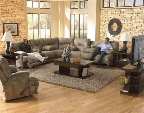 Voyager Sectional by Voyager Reclining Sectional From Catnapper