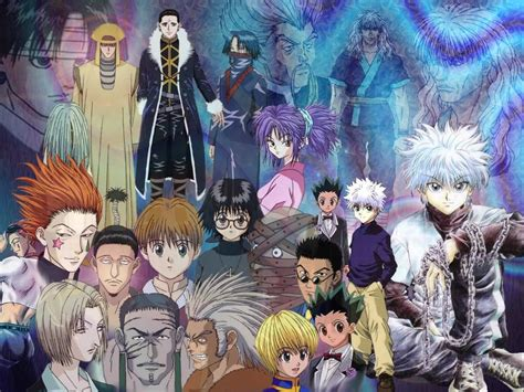 anime hunter x hunter hunter x hunter anime 17 background hivewallpaper com