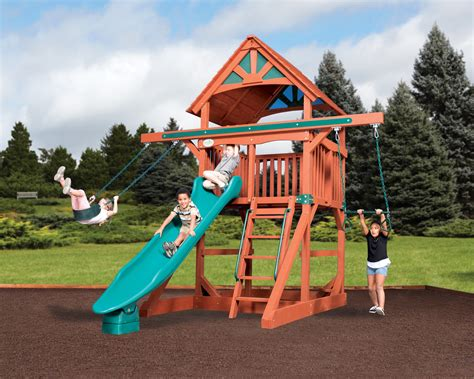 backyard adventures backyard adventures space saving playsets