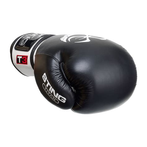 titan leather boxing gloves sting sports usa