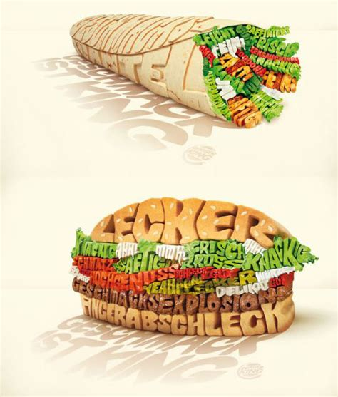 typography food breathtaking and creative typographic poster design design swan
