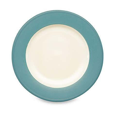 bed bath and beyond plates noritake 174 colorwave rim dinner plate in turquoise bed