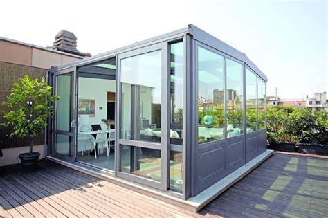 verande solari serra bioclimatica chiusura vetrata per vivere il