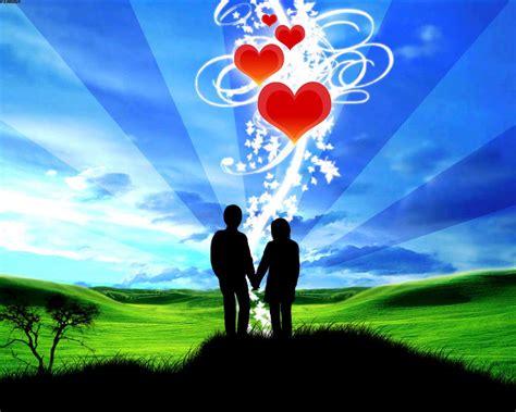wallpaper handphone romantis gambar romantis animasi kartun kata cinta gambar foto