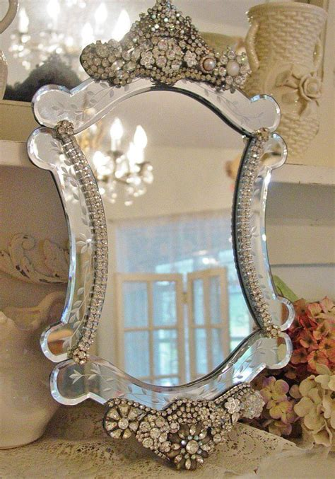 beautiful mirrors 17 best images about crystal mirrors on pinterest design
