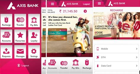 axix bank app axis bank mobile banking app for android review problems
