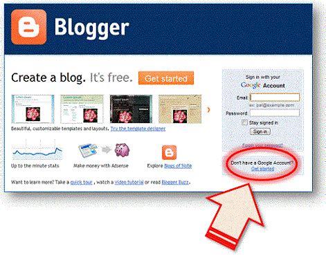 cara cepat membuat blog gratis di blogspot tanpa ribet cara membuat blog di blogger gratis dan cepat febri