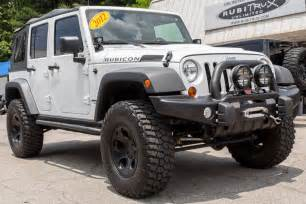 2012 Jeep Wrangler For Sale 2012 Jeep Wrangler Rubicon Unlimited White For Sale