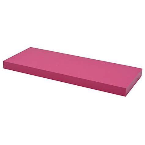 Pink Shelf by Duraline Floating Shelf Pink