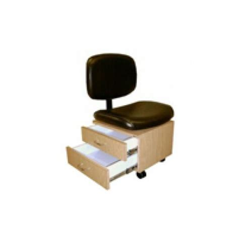 Pedicure Stool With Drawers by Collins 2510 Qse Pedicure Chair With Storage Drawers