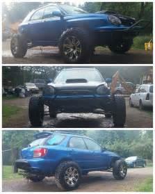 Subaru Wrx Wagon Lifted Subaru Impreza Wrx Wagon Is A Borderline Jportscar