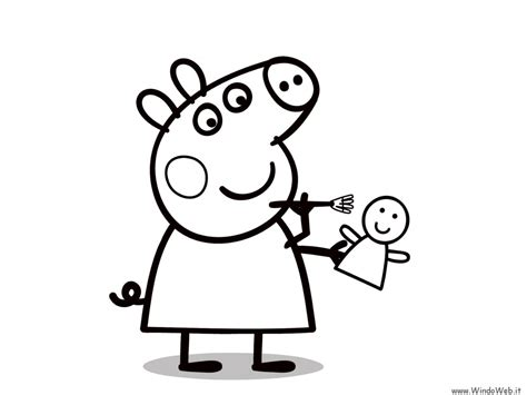 peppa pig coloring pages a4 pigs a4 size coloring pages