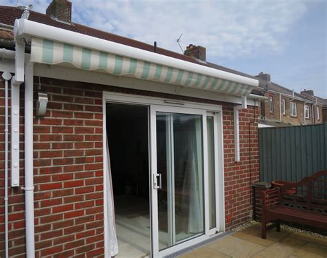 Patio Awnings Retractable by Electric Patio Awning Fitted In Portsmouth Awningsouth