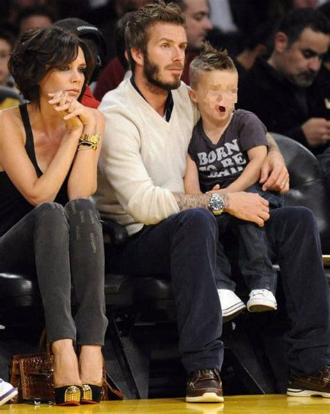 david beckham and his family biography beckham s family day out ok magazine