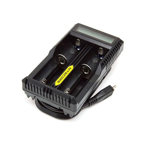 Nitecore Um20 Smart Battery Charger With Lcd Screen nitecore um20 external battery charger delirium