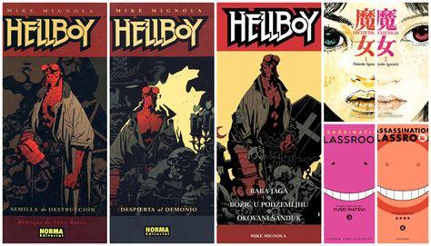 libro hellboy 1 semilla de sue 241 os fuera del silencio resumen trimestral 1 2017 libros mangas pel 237 culas series anime