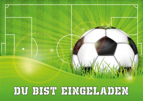 einladungskarten  gruene einladungskarten zum fussball