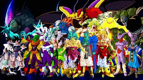 dragon ball villains wallpaper dragonball xenoverse z movie villians z who will all be in