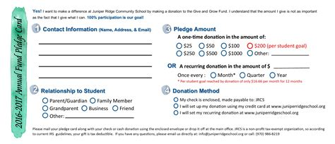 donor credit card template free sle pledge card non profit tire driveeasy co