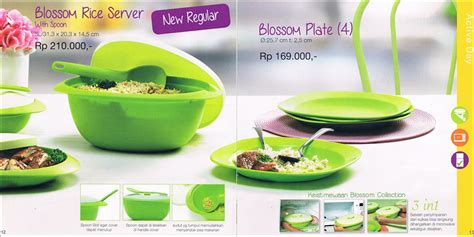 Tupperware Blossom blossom plate tupperware promo november 2014