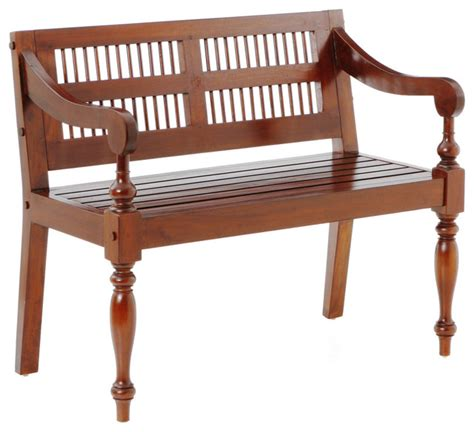 traditional bedroom benches cheyenne classic bench mahogany traditional benches