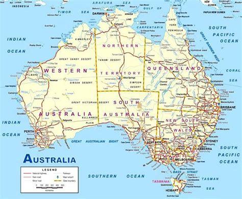 australia map picture australia map image map pictures