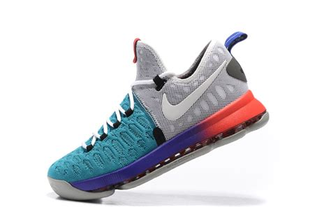 kd shoes for for sale nike kd 9 light grey white aqua mens basketball shoes for