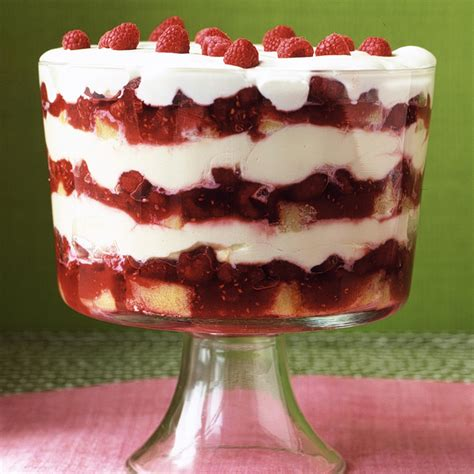 grand raspberry trifle recipe martha stewart