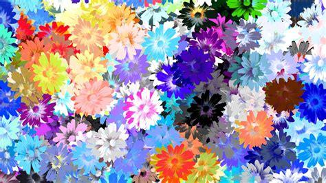 Descargar Fondos De Pantalla Flores De Muchos Colores Hd | fondos de pantalla de flores abstractas con muchos colores