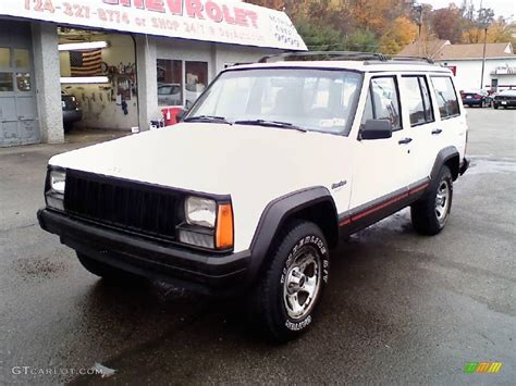 jeep cherokee sport white 1996 stone white jeep cherokee sport 4wd 20291191