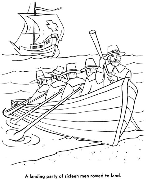 Mayflower Coloring Pages mayflower ship coloring page az coloring pages