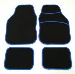 St Floor Mats Uk Black Blue Car Mats For Ford Focus Rs St
