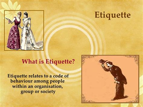 Dining Table Etiquette Ppt Dining Etiquette