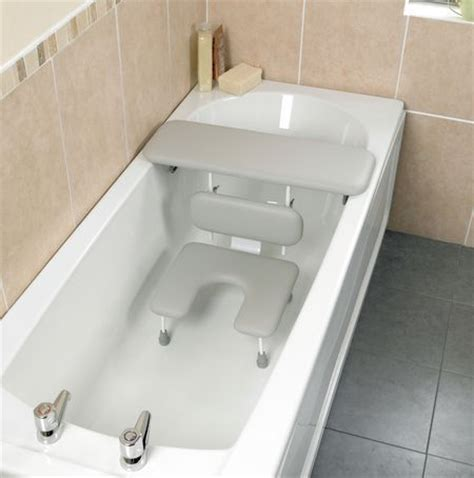 bathtub seat for adults ascot padded bath board and seat for comfort and safety