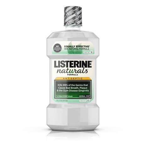Herbal Gel Antiseptic listerine 174 naturals herbal mint antiseptic mouthwash listerine 174