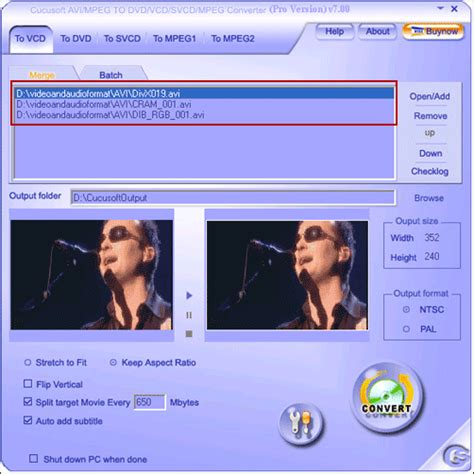 format file vcd how to convert or burn avi to vcd format guide