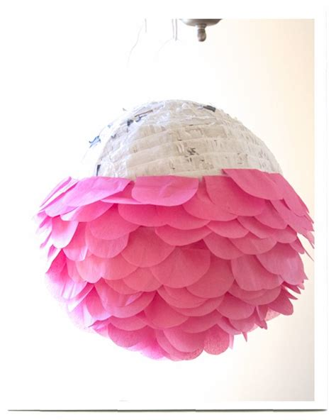 How To Make Crepe Paper Balls - tinkerbell ideas