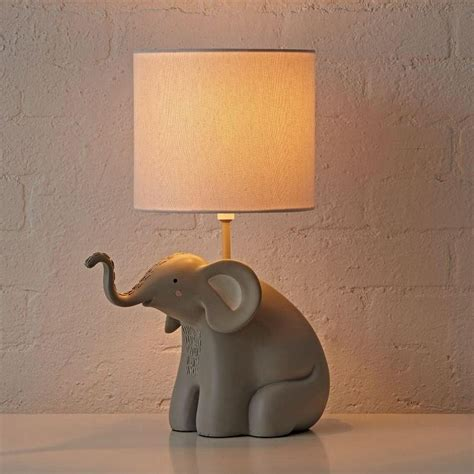 elephant complete lamp pottery barn kids