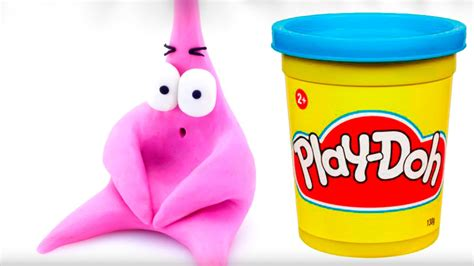 play doh spongebob play doh stop motion playdo bob esponja stopmotion