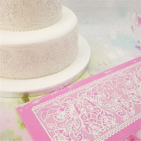 Lace Mats For Cake Decorating by Bowman Fantasia Cake Lace Mat