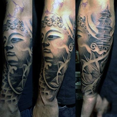 buddha tattoo sleeve 100 buddhist tattoos for buddhism design ideas